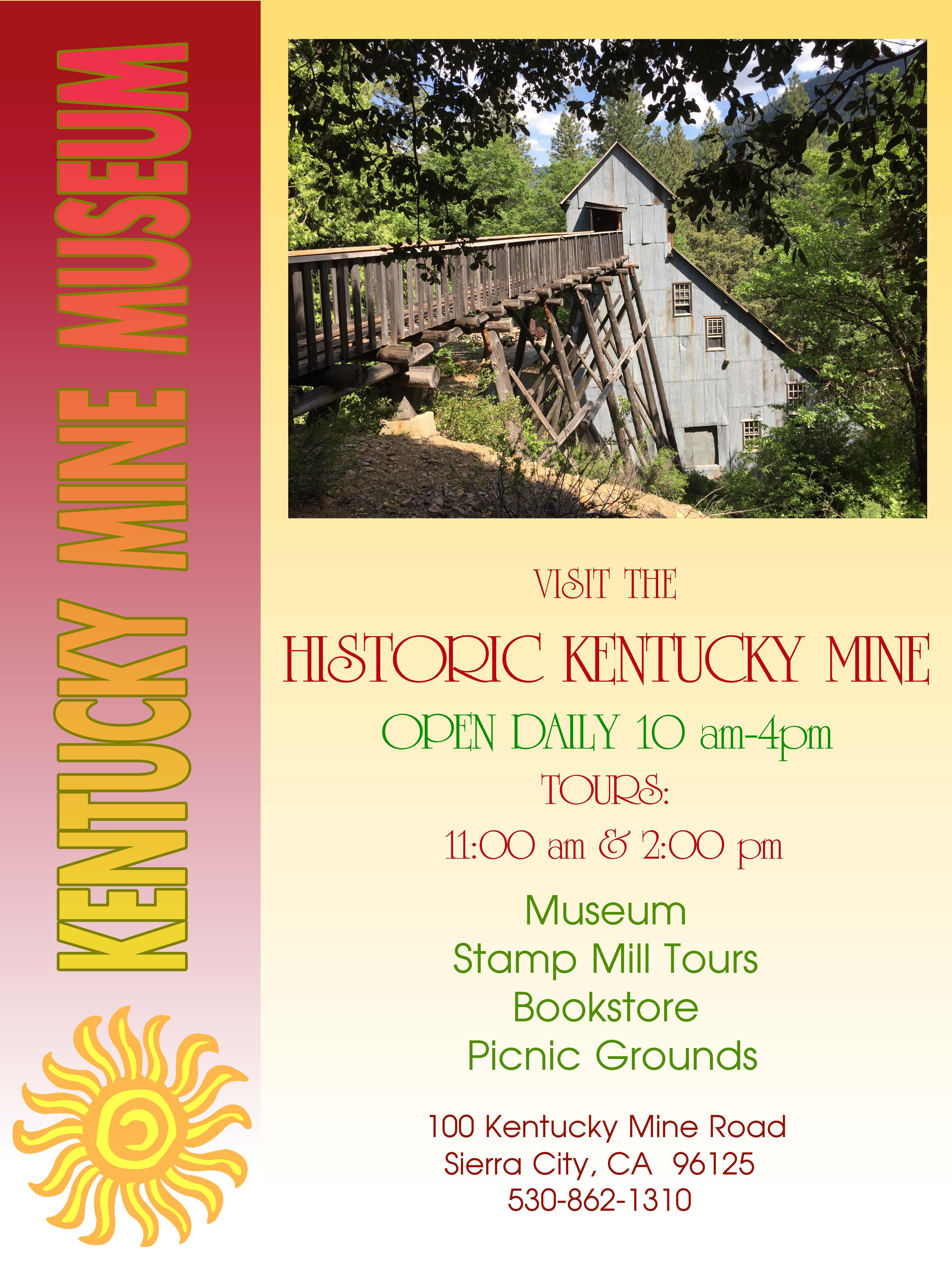 Kentucky Mine Museum Houirs