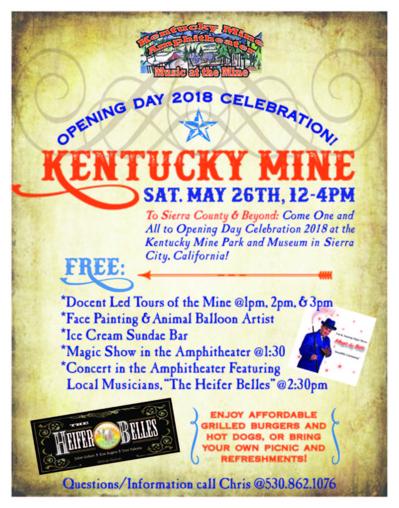 Kentucky Mine Opening Day 2018