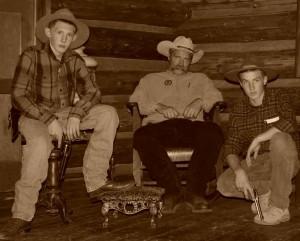 The Lawmen:  Hunter Davey, Bryan Davey and Tom Dines